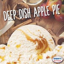 Fall Season Apple Pie Ice Cream